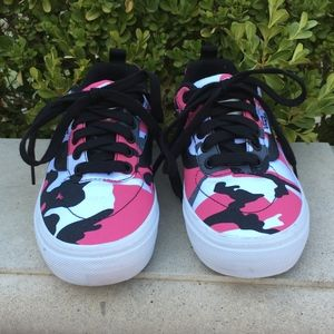 Pink Camouflage Kyle Walker Pro Skate Low Top Vans